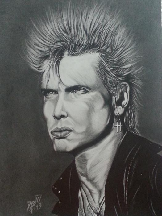 Billy Idol par Callahan
